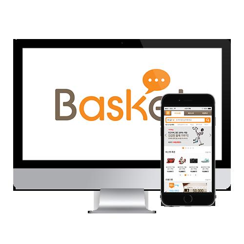 SK 바스켓 모바일 웹 / 앱 개발